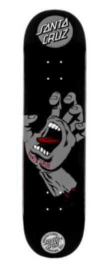 Shape Santa Cruz Screaming Hand Black 8.25