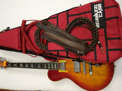 Semi Case em Nylon para Guitarra