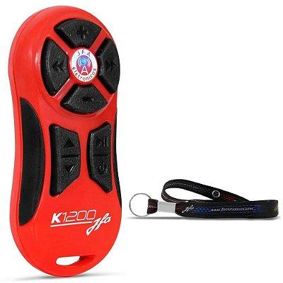 Controle Distância Jfa K1200 Vermelho (Blister)