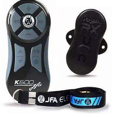 Controle Longa Distancia Completo Jfa Preto / Cinza K600