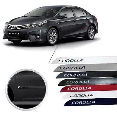 Friso Acessório Lateral Novo Corolla 2015/2018 Cor Original