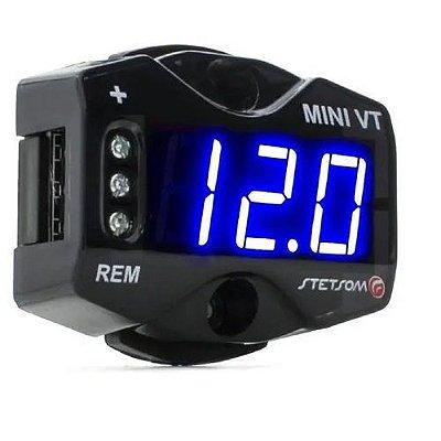 Voltímetro Mini Stetsom Mini Vt Medidor De Bateria Digital