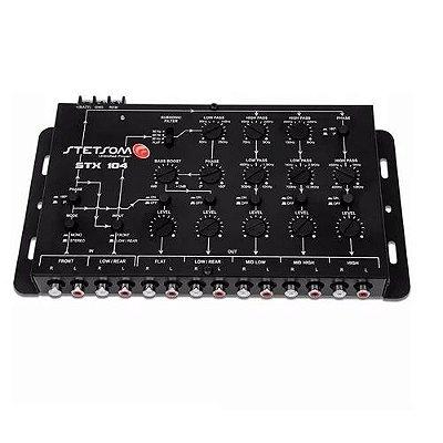 Crossover Stx104 5 Canais Mono Ou Stereo Automotivo Mesa Som