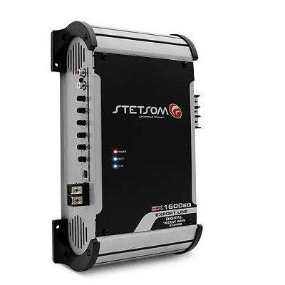 Modulo Stetsom Ex1600eq Amplificador 1600 Wrms 1 Ou 2 Ohms