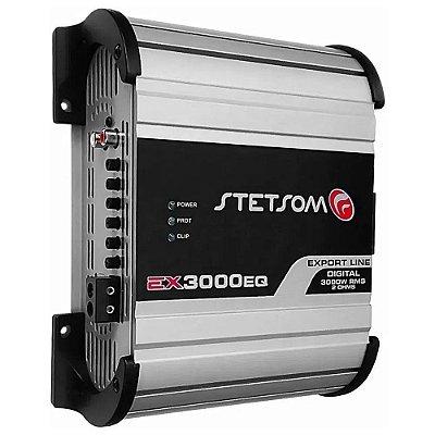 Módulo Amplificador Stetsom Export Line EX 3000EQ 3000W RMS