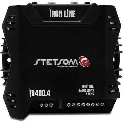 Módulo Stetsom 400 Rms Ir-400.4 Duos Stereo 4 Canais Digital