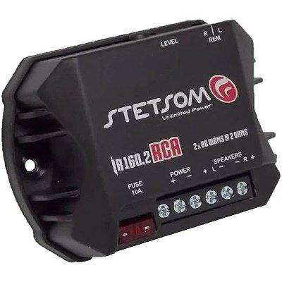 Ir160.2 Rca Amplificador Stetsom Iron 2 Canais 80 Wrms