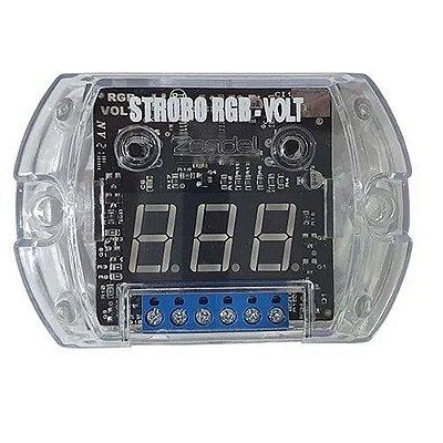 Central De Efeitos Strobo Rgb-volt 12 Efeitos Zendel