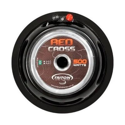 Subwoofer Triton Red Cross 12 Pol Grave 500w Rms