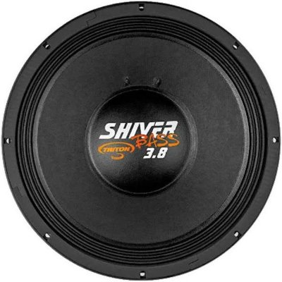 Woofer Shiver Bass 3.8 1900watts Rms/18 Pol 8 OHMS