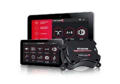 PROCESSADOR DE AUDIO DIGITAL STETSOM STX-2436 POR BLUETOOTH ANDROID