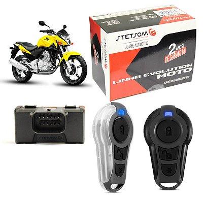 MOTO TRIPLO I - ALARME PARA MOTOS C/ BLOQUEIO ANTIFURTO COM IGNIÇÃO (1 CONT CONVENCIONAL + 1 CONTR. PRESENÇA)