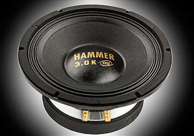"""ALTO FALANTE WOOFER EROS E 12 HAMMER 3.0K BLACK 1500 RMS 12"""" 4/8 OHMS"""