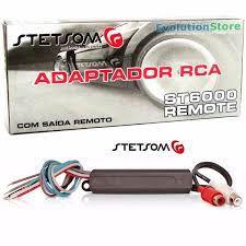 ST6000 ADAPTADOR  FIO P/RCA SAÍDA REMOTO