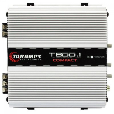 AMPLIFICADOR TARAMPS T 800.1 COMPACT 800W RMS 1 CANAL 2 OU 4 OHMS
