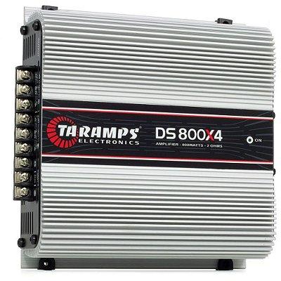 MÓDULO AMPLIFICADOR TARAMP'S DS 800X4 - 2 OHMS