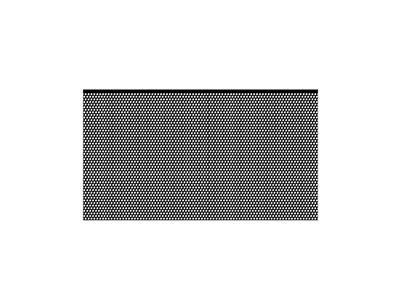TELA P/ CAIXA PROF. 0,52 X 1,20 - 2,1 KG - PRETA - UNIT. - PERMAK
