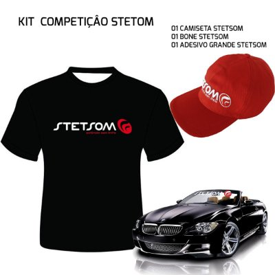 KIT COMPETIDOR - STETSOM (GRÁTIS ADESIVO)