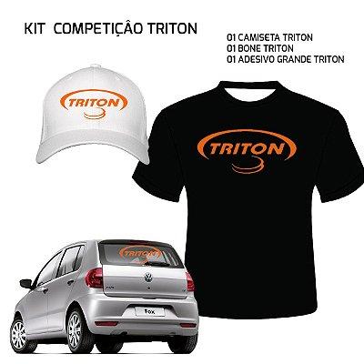 KIT COMPETIDOR - TRITON (GRÁTIS ADESIVO)
