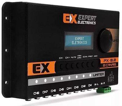 EXPERT CROSSOVER EQUALIZADOR E PROCESSADOR DIGITAL - PX 8.2