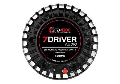 REPARO PARA DO DRIVER SFD 4300 150W RMS - 8 OHMS