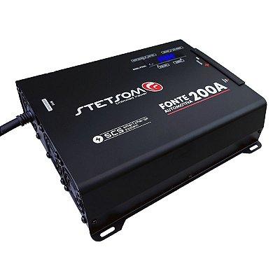 Fonte Carregador Stetsom Infinite 200A Display Digital Bi Volt Automatico