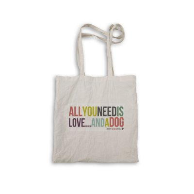 "Ecobag ""All you need is love"""