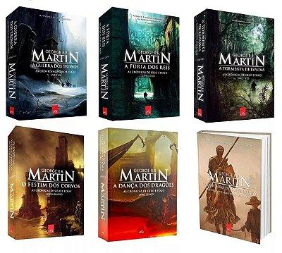 """Coleção """"As Crônicas de Gelo e Fogo"""" + """"O Cavaleiro dos Sete Reinos"""""""