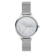 Relógio Feminino Skagen Slim Prateado em Aço SKW2701KN