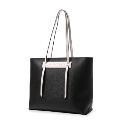 Bolsa Shopping Bag Feminina Vogue Sintético Preto VG19562