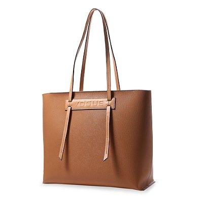Bolsa Shopping Bag Feminina Vogue Sintético Caramelo VG19562
