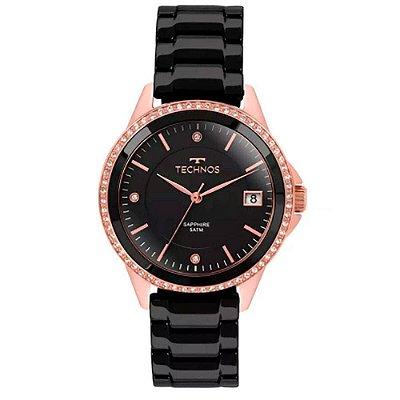 Relógio Feminino Technos Analógico em  Aço Inoxidável Preto