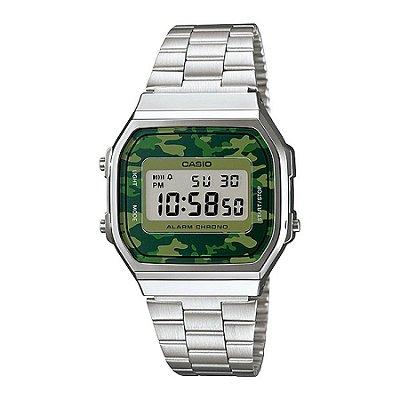 Relógio Casio Unissex Camuflado A168WEC3DF
