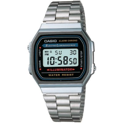 Relógio Unissex Casio Vintage Digital Fashion A168WA-1WDF