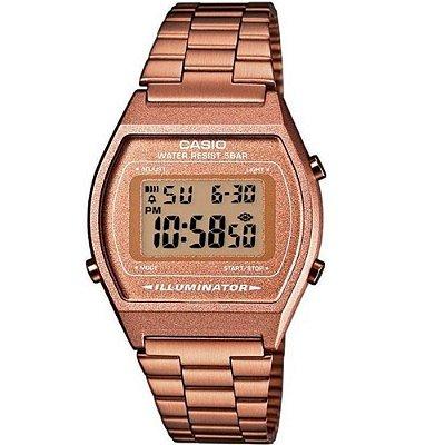 Relógio Feminino Casio Vintage Digital Rose B640WC-5ADF