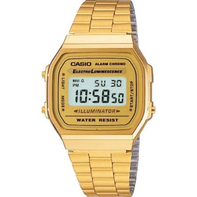 Relógio Unissex Casio Digital Fashion A168WG-9WDF