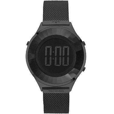 Relógio Feminino Technos Digital em Aço Grafite BJ3851AE4P