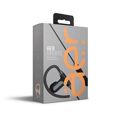 Fone de Ouvido Bluetooth Esportivo Preto AerSports - AER