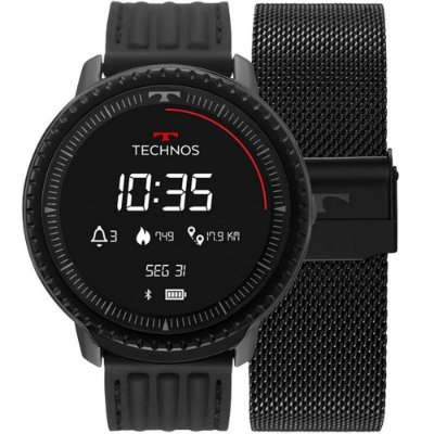 Relogio Smartwatch Technos Cpnnect Preto L5AA/1P
