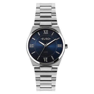 Relógio Euro Feminino New Basic Prata EU2035YQT/3A