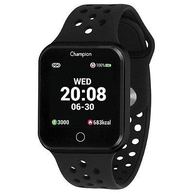 Relógio Champion Smartwatch Preto CH50006P