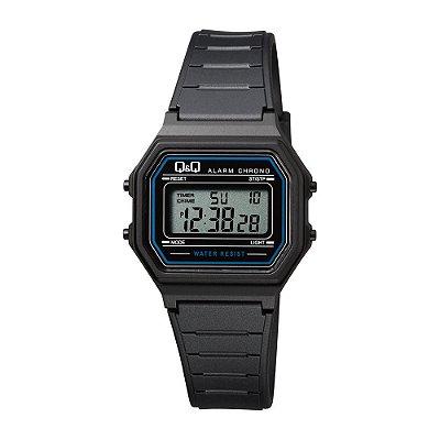 Relógio Feminino Masculino Q&Q Digital Retro