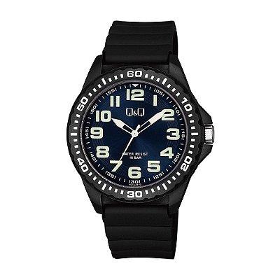 Relógio Masculino Feminino Q&Q Analógico Preto VS16J01Y