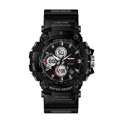 Relógio Masculino Petrorian Anadigital Preto Caixa Grande