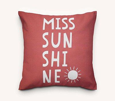 Capa de Almofada Miss Sunshine