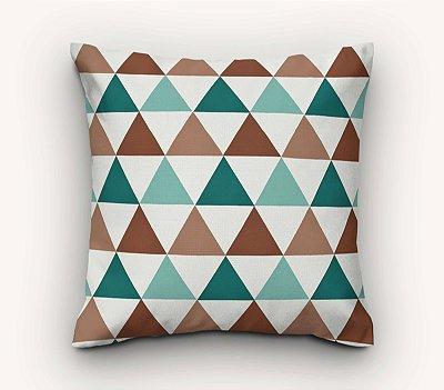 Capa de Almofada Triângulos