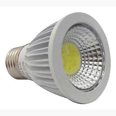 Lampada Led Dicroica 5w E27 Cob Branco Frio Bivolt