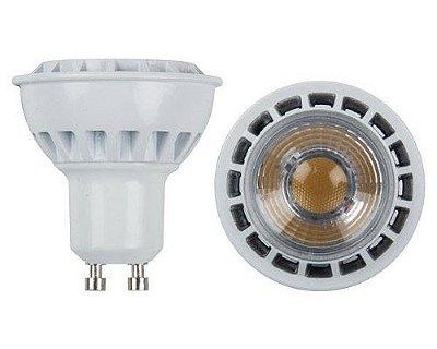 Lampada Dicroica Led Gu10 5w Cob Dimerizavel 110v 3500k