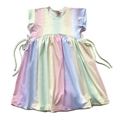 Vestido Infantil Menina Jokenpô Degradê