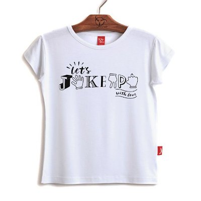 Blusa Jokenpô Infantil With Love